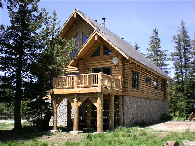 Log cabin mountain retreat flickr photo sharing for Log cabin retreat