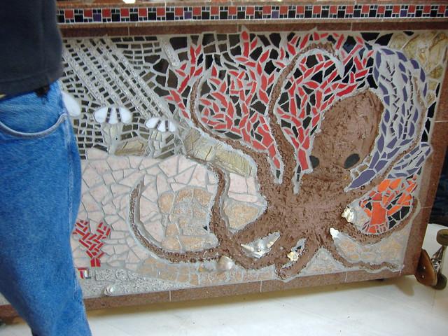 Octopus mosaic | Flickr - Photo Sharing!