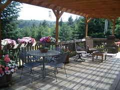 Front Deck in the Summer