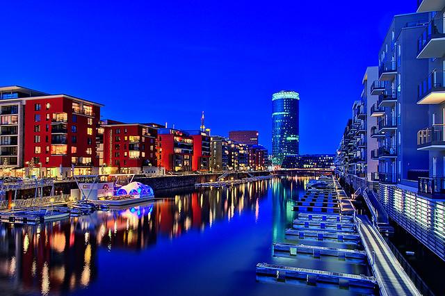 Frankfurt am Main (Germany) @ The blue hour