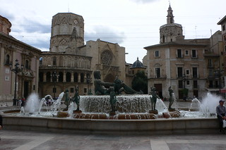 Plaza de la Virgin, Valencia
