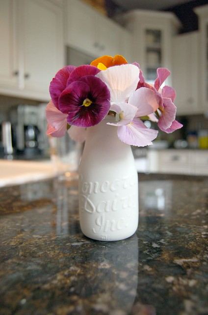 Alyssa Ettinger Milk Bottle Vase