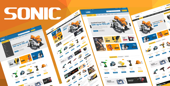 Sonic v1.0 – Responsive Opencart Theme