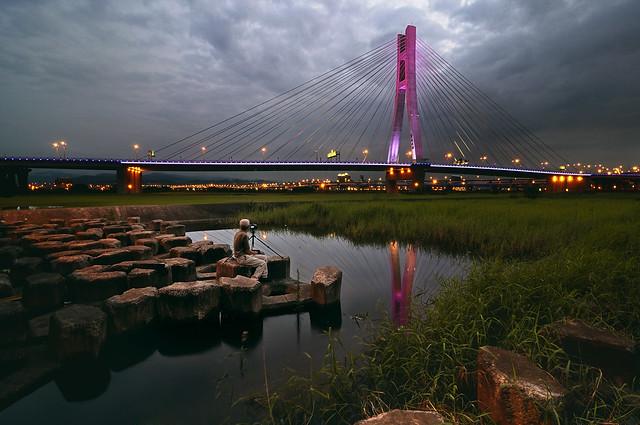 許久不見新北橋 雨後的空氣
