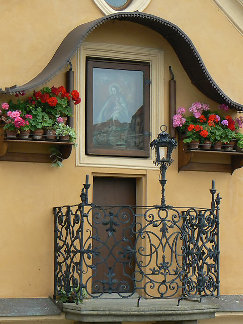 Prague window.
