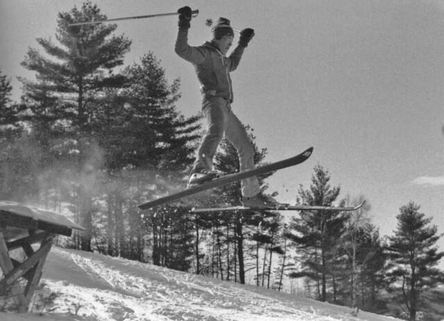 Blanchard Hill Ski area Dunstable Ma.