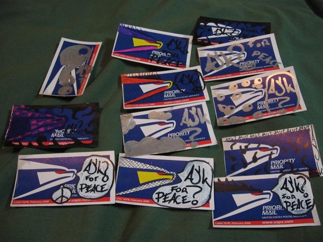Priority Mail Sticker Graffiti Ask? stickers - priori...