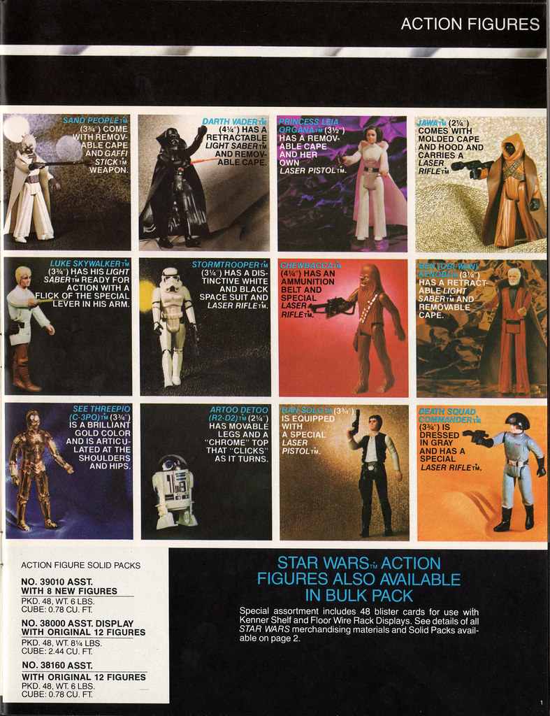 Kenner Star Wars product Supplement 1979 - page 02