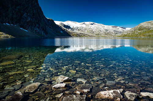 møreogromsdal norwegen lake stones norge norway summer nature mountains water snow landscape reflections canon eos 5d mark iii 5d3 24105l natur landschaft see