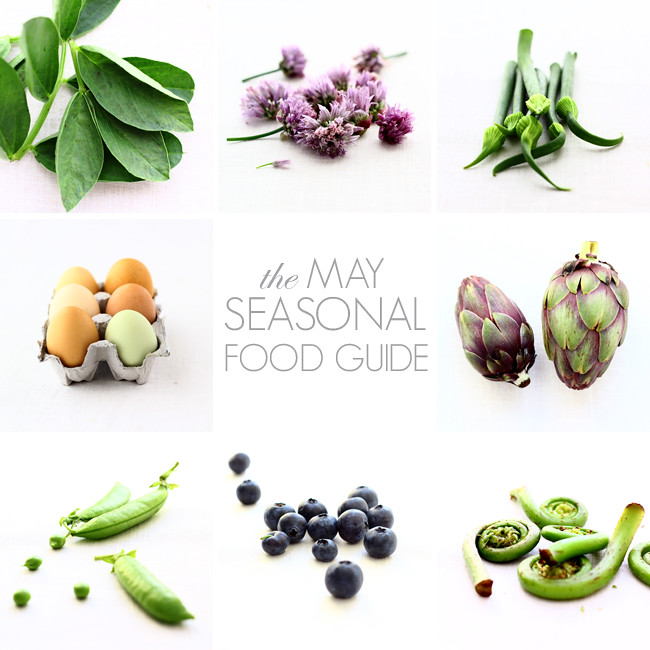 May Seasonal Food Guide