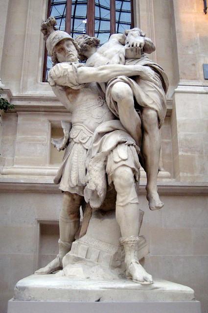 Paris - Musée du Louvre - Enée et Anchise   Flickr - Photo ...