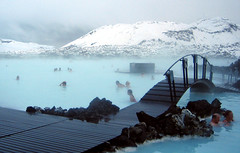 Blue Lagoon spa.