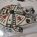 Millenium Falcon birthday cake