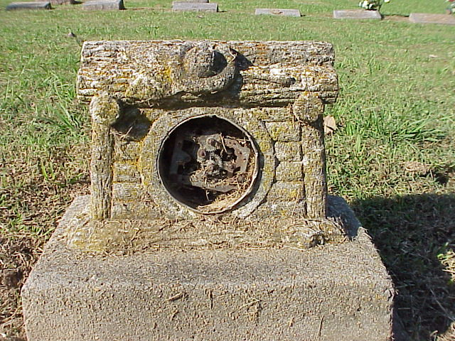Tombstone with a Clock?