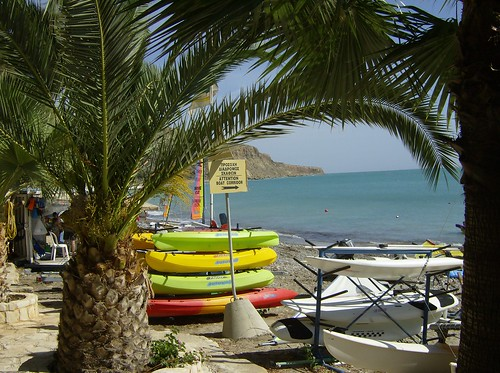 Watersports, Pissouri beach