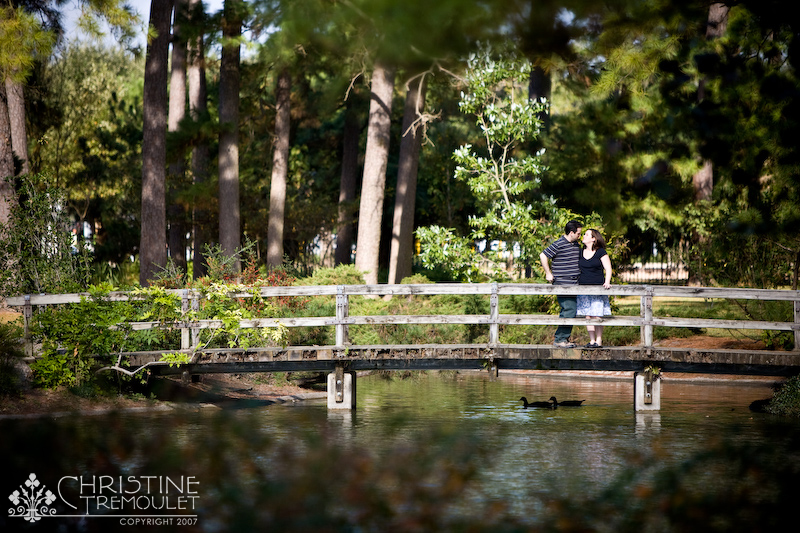 Andi Jason Hermann Park Engagement Session Houston Texas Christine Tremoulet