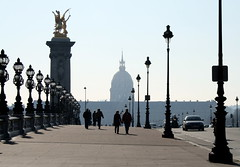 Alexander III bridge / Les invalides