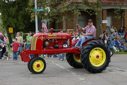 ciągnik rolniczy |Durand kolejowe Days 2008|2501248720 30936a58a6