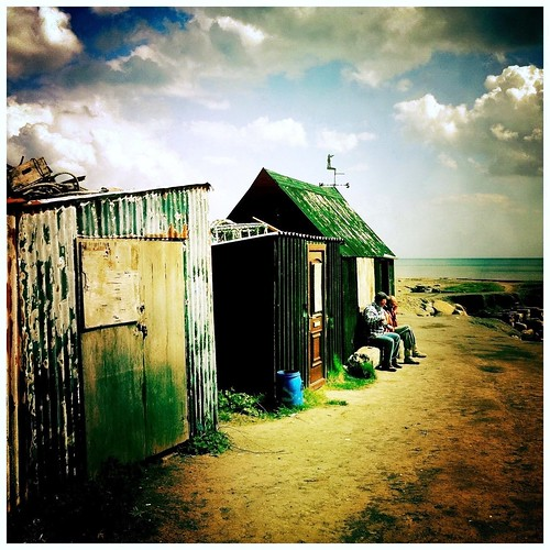Fishermen & Huts, Port Mulgrave, Yorkshire Hipstamatic images