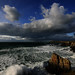 Gwithian, Cornwall. Approaching Squall by s0ulsurfing