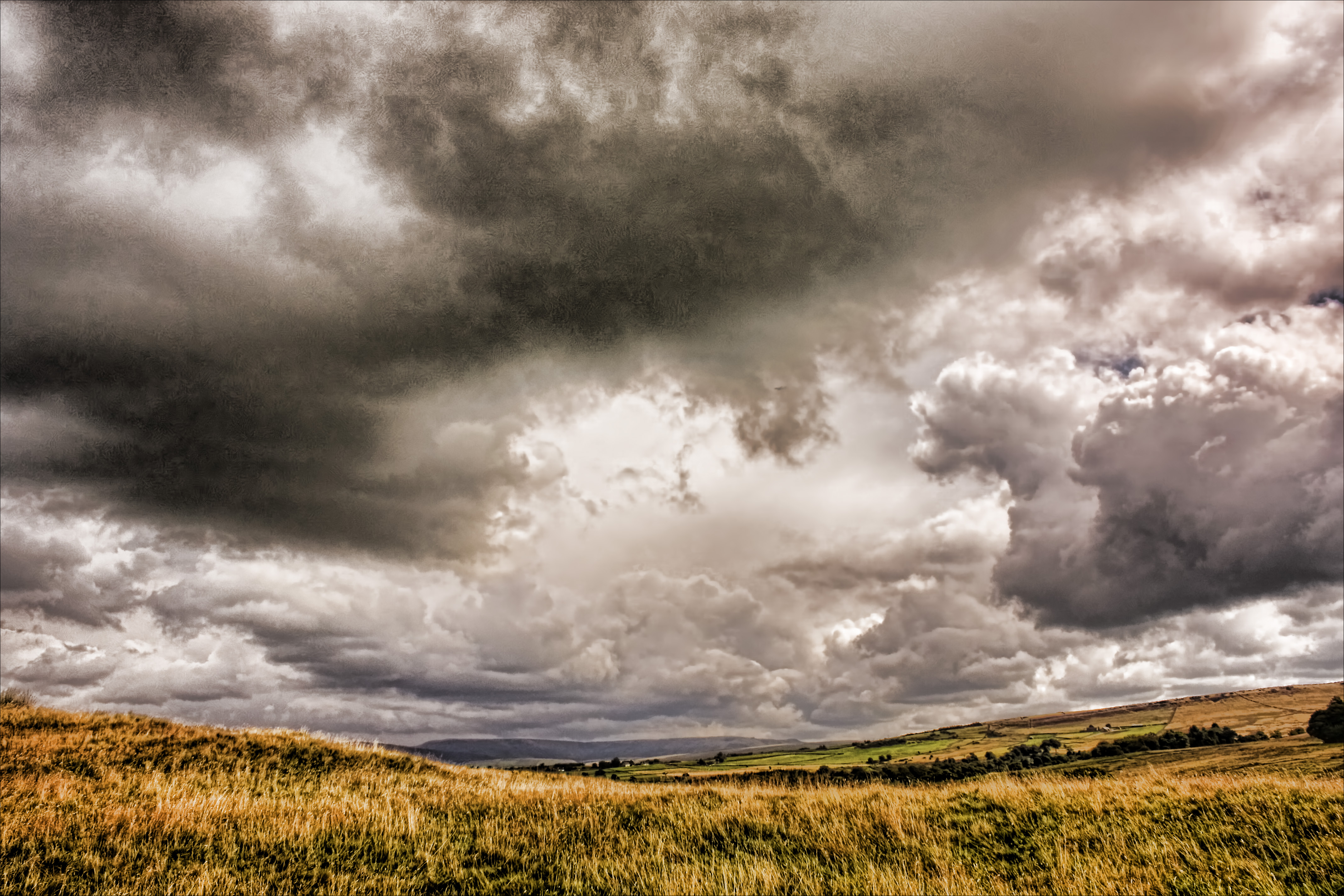 Storm clouds gathering - Topazed | Flickr - Photo Sharing!