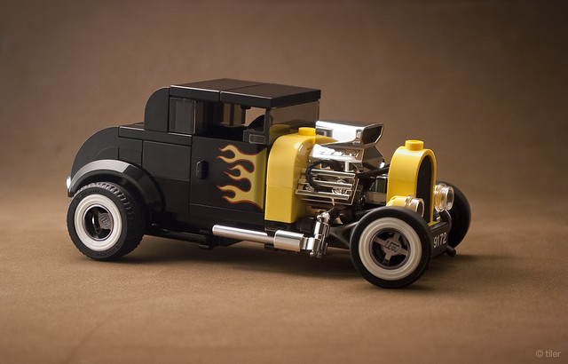 Ford Model A Coupe Hot Rod – Lego 75875 re-interpretation