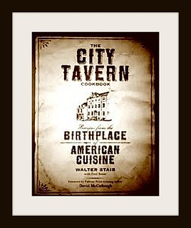 City Tavern Cookbook Graphic