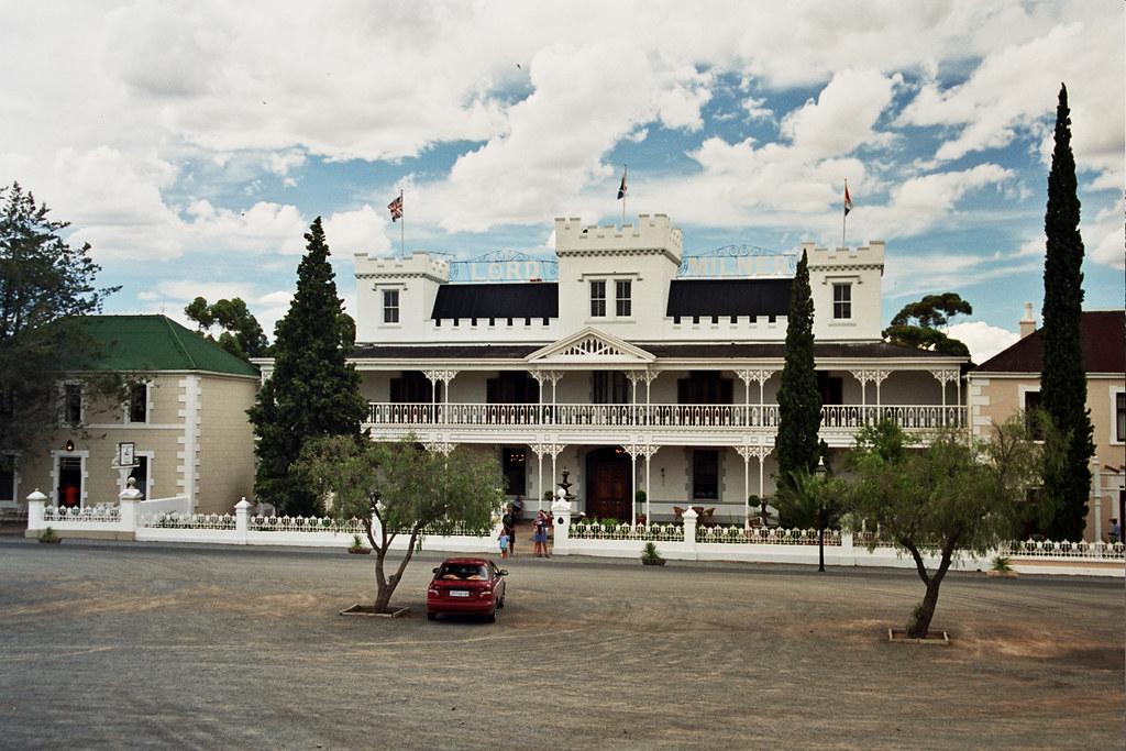 Lord Milner Hotel at Matjiesfontein