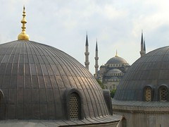 building, landmark, mosque, place of worship, byzantine architecture, chapel, dome,