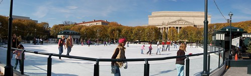 DC Ice Skating panorama