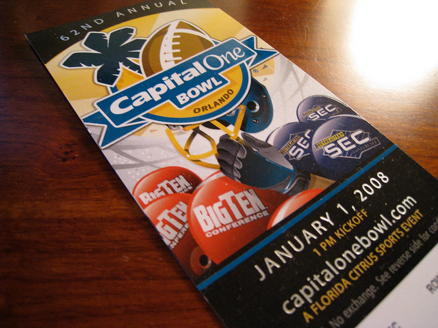 Capital One Bowl Ticket