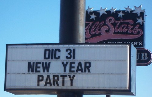 DIC 31 New Year Party