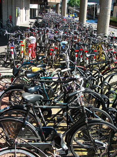 UTRECHT :: bike parking