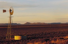Windmill in the Karoo - South Africa