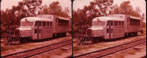 3D, Galloping Goose D&RGS #3, circa late 1950's, Knott's Berry Farm, Buena Park, California