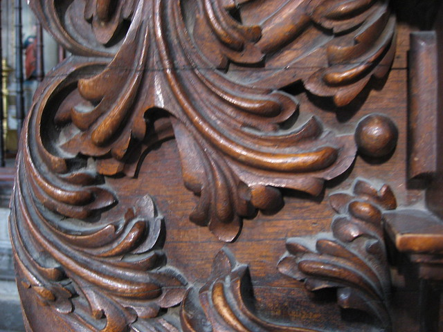 Acanthus Carving and Design http://www.flickr.com/photos/22887580@N06/2515782677/