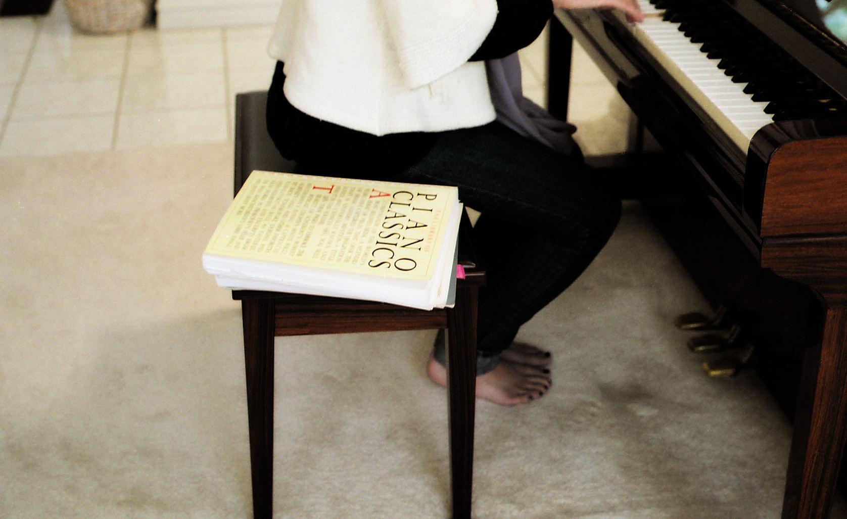 136/365: Practicing