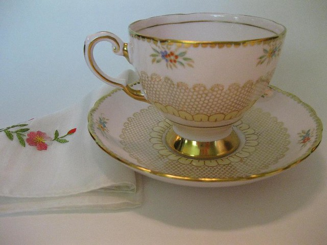 Open, Yellow, Pink, Purple, Bone China, Small