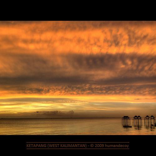 sunset beach indonesia pier bravo borneo kalimantan flickrsbest infinestyle absolutegoldenmasterpiece daarklands magicunicornverybest magicunicornmasterpiece —obramaestra—