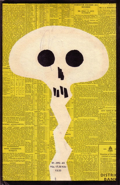 Czechoslovak dust jacket (1965)