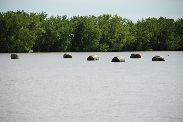 flooding from the milk river