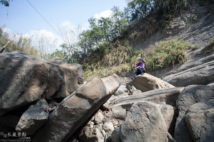 台南私藏景點--關山千層岩瀑布、幽情瀑布 (1)