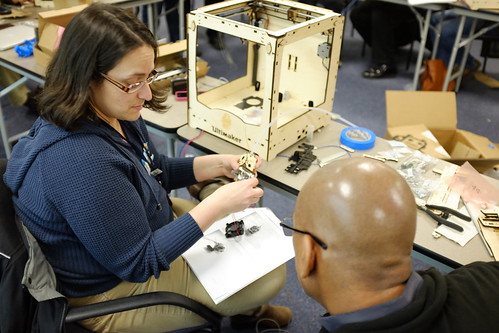 Delaware Libraries Ultimaker 3D Printer Build