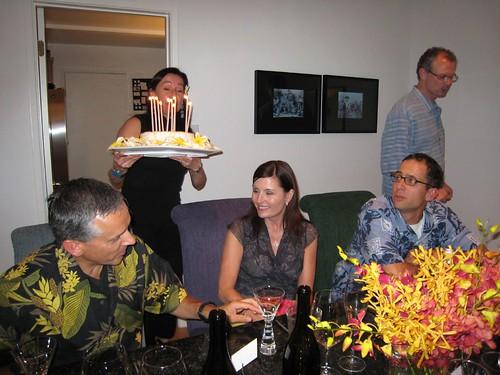 party, orchids, fuchsia, yellow, birthday c… IMG_0014