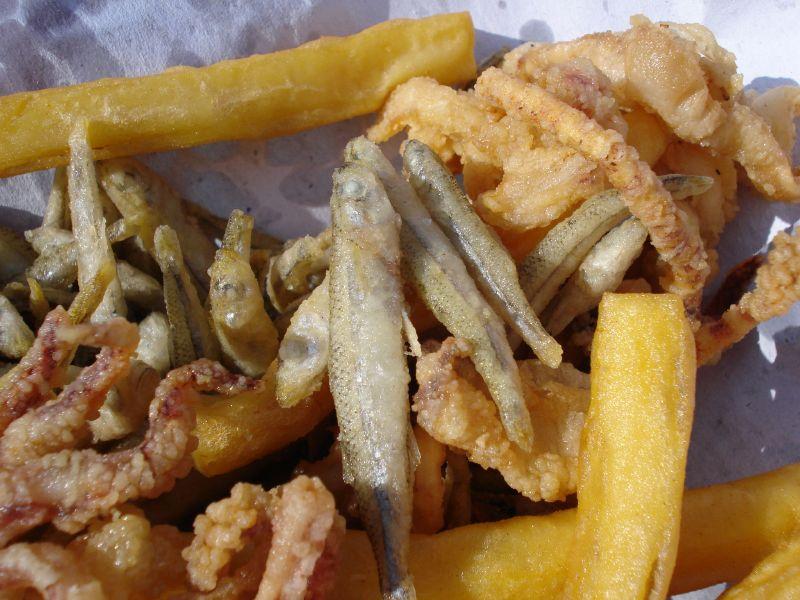 pranzo ieri - fritto misto