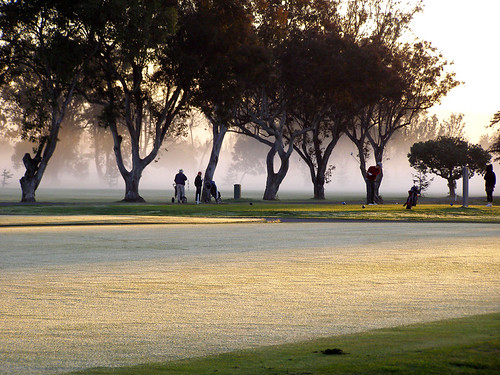 california mist fog sunrise golf photo frost golfcourse alameda golfers ourdailytopic