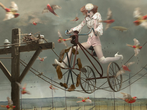 """Dreams"" - Eugenio Recuenco - Zink Magazine #7 - Jennifer Pugh"