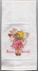 January (Garnet) Fairy