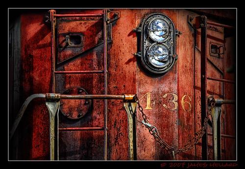 Old Train Lights napa