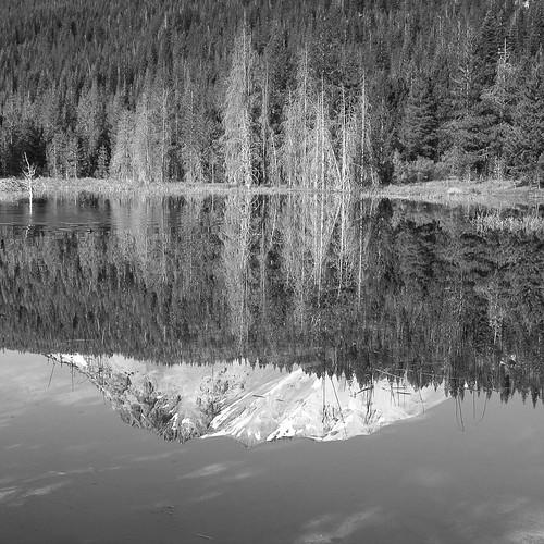 Mt. Lassen in Hat Lake